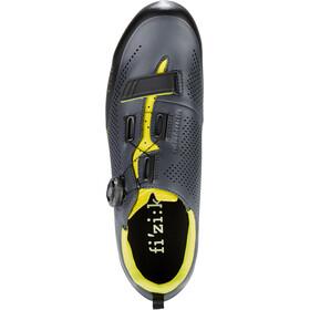 Fizik Terra X5 MTB Schoenen Heren, grey/yellow fluo